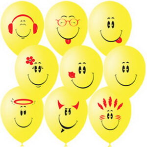 Воздушные шарики Улыбка (Смайлы)