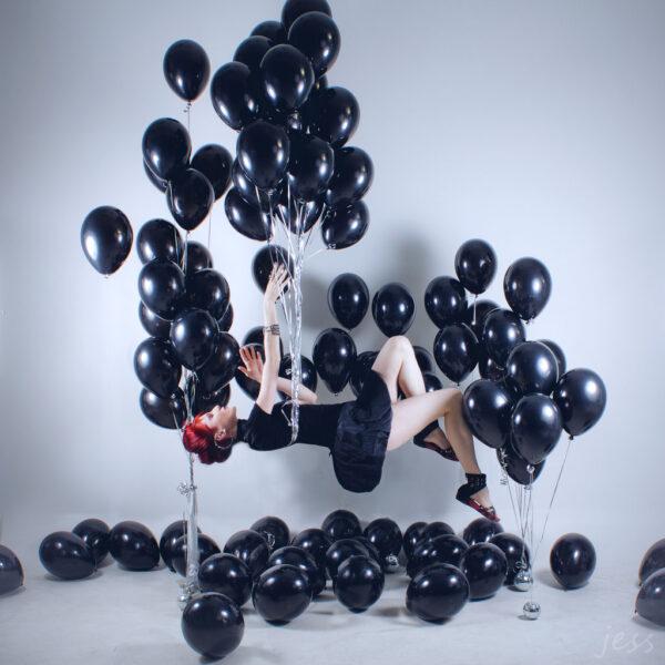 Воздушные шарики Black (Черные)
