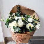 Цветы в шляпной коробке №4