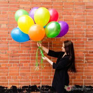 Воздушный шар матовый