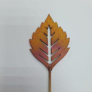 Топпер для букета Осенний листик
