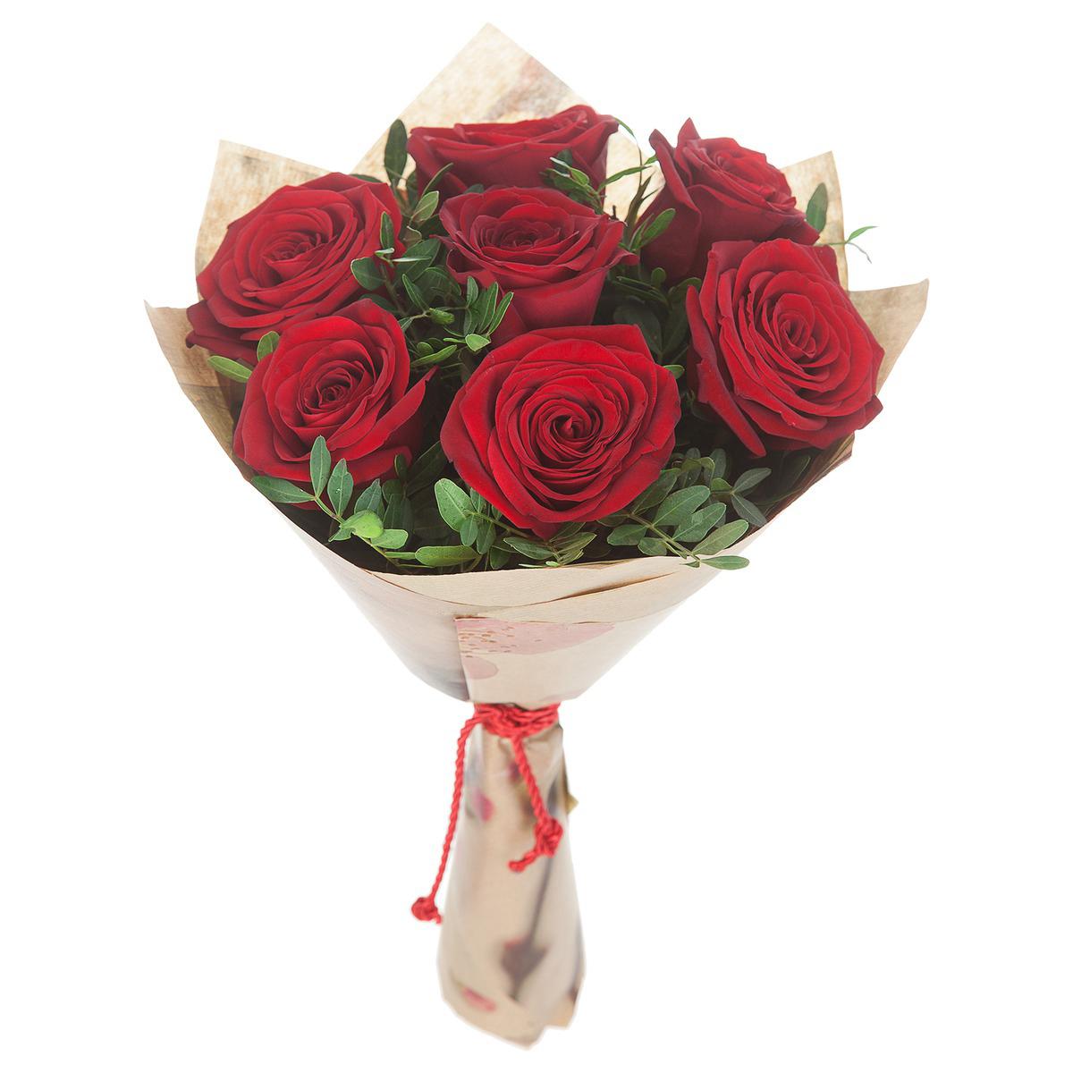 Упаковать одну розу своими руками