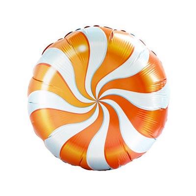 """Воздушный шар """"Конфета оранжевая"""""""