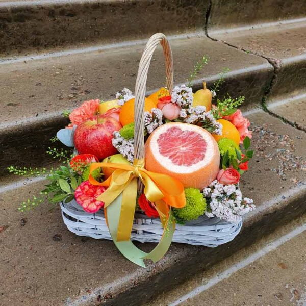 Корзина свежих фруктов №1