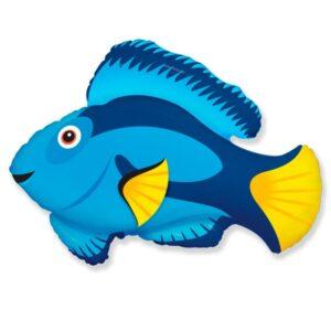 """Воздушный шар """"Голубая рыбка"""""""