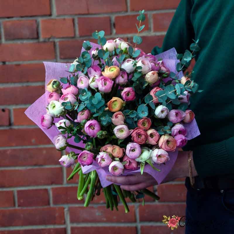Букет с хризантемой №1