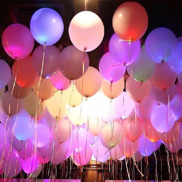 Воздушный шар светящийся