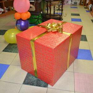 Коробка-сюрприз с шариками!