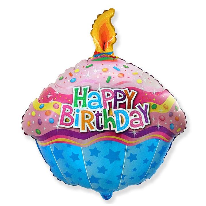 Воздушный шар «Кекс»