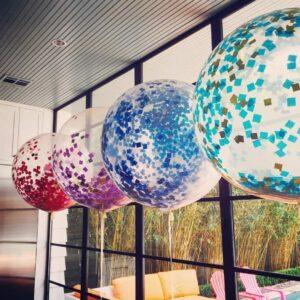 Воздушный шар с Конфетти
