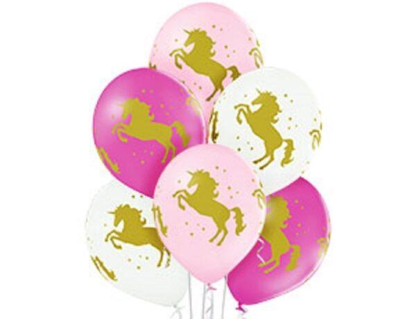 Воздушные шарики Единороги
