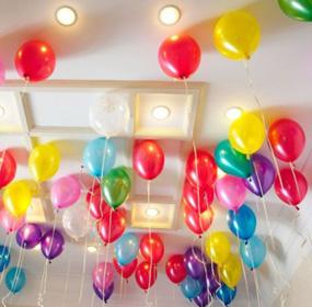 Оформление помещения шарами