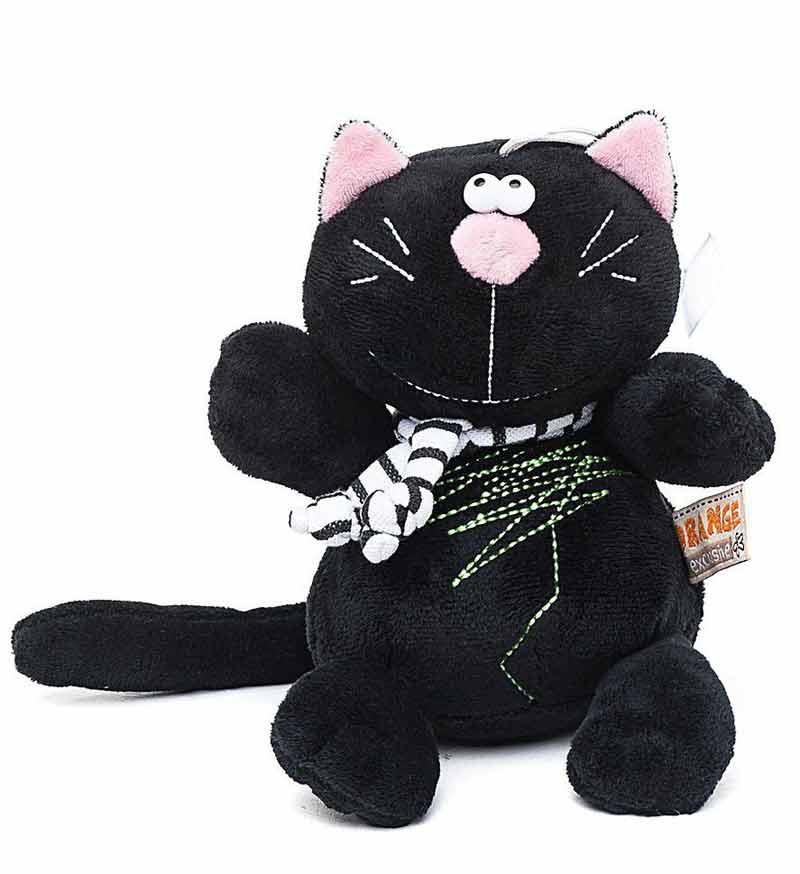 Кот Батон черный
