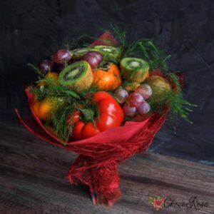Фруктово-Овощной букет №3