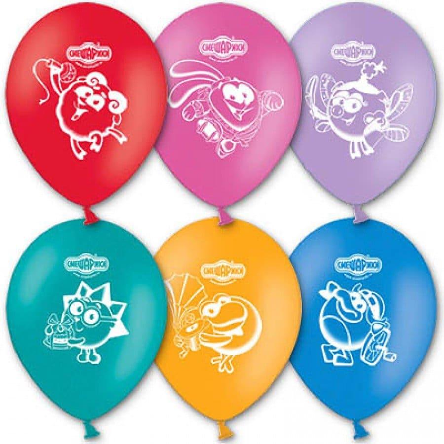 Воздушный шар Смешарики