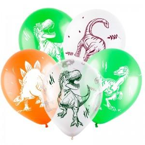 Воздушный шар Динозавры