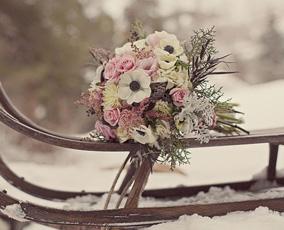 Заказ цветов зимой