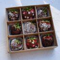 Шоколадные конфеты ручной работы №2