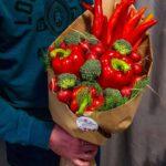 Букет с хризантемой №2