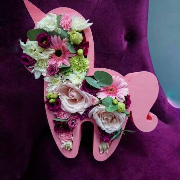 Цветочный единорог