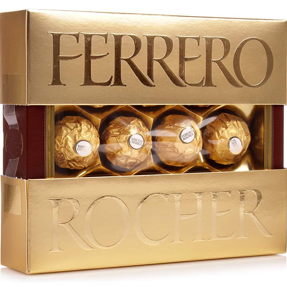 Коробка шоколадных конфет Ferrero Rocher 125г