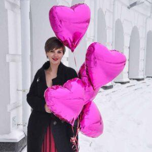 """Фонтан шаров """"Любовь"""""""