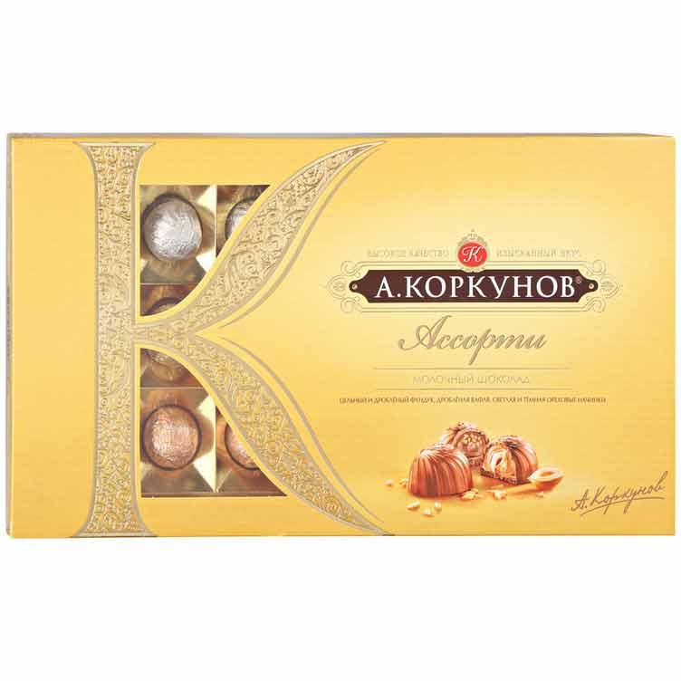Коробка конфет А. Коркунов