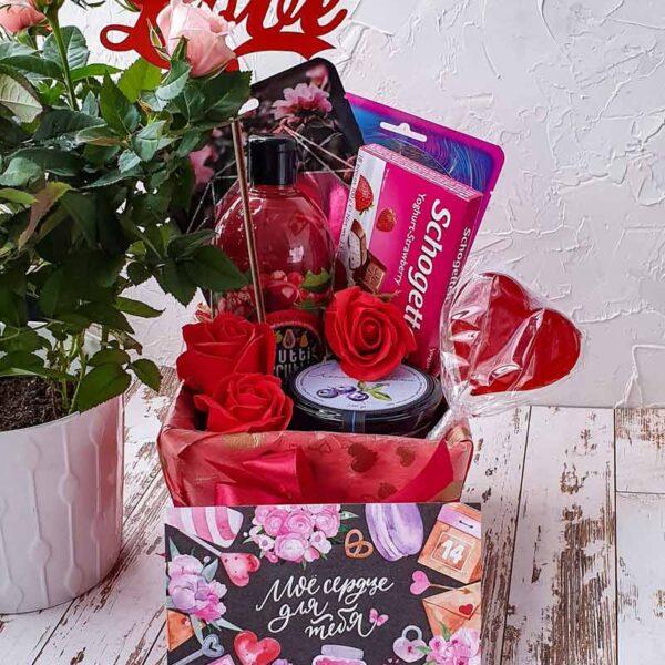 Подарочный набор Be my Valentine №3