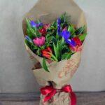Букет из свежих весенних цветов ЧИСТЫЕ АРОМАТЫ