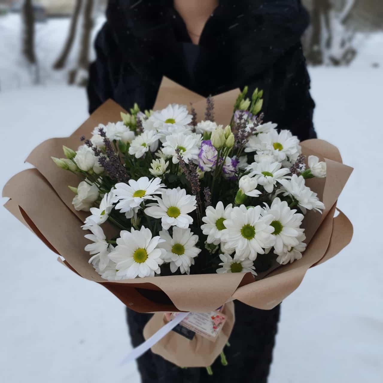 Букет с хризантемой №3
