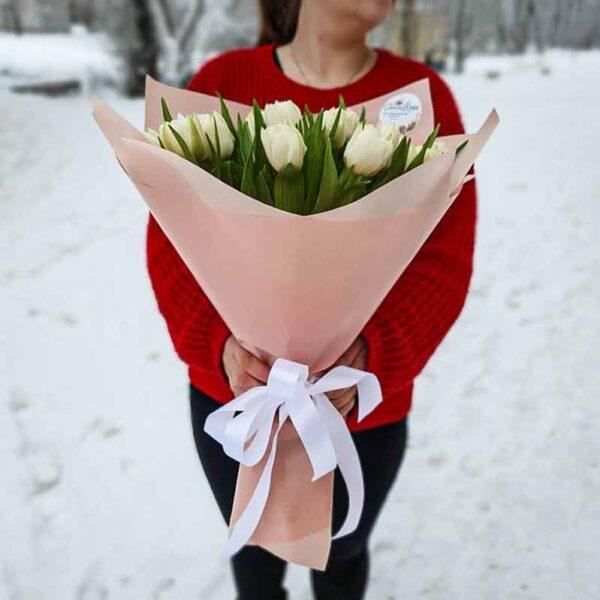 Букет тюльпанов Первоцвет