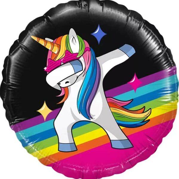 Воздушный шар Танцующий единорог