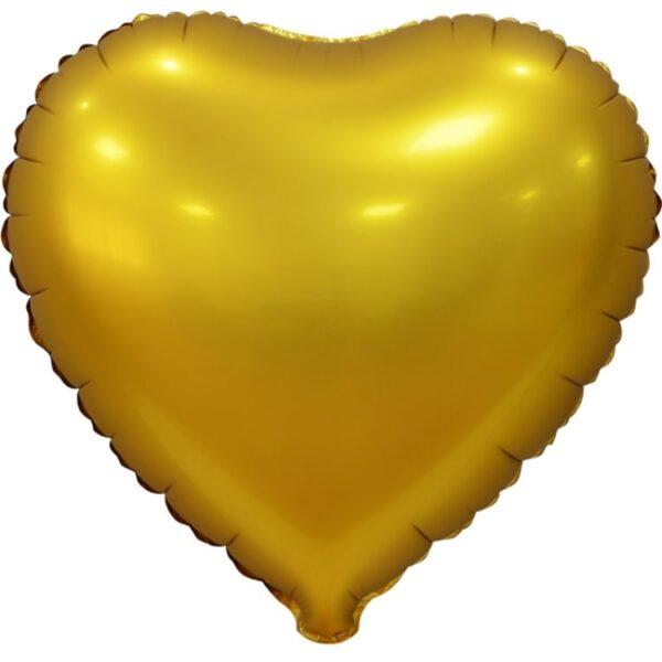 Воздушный шар Сердце без рисунка