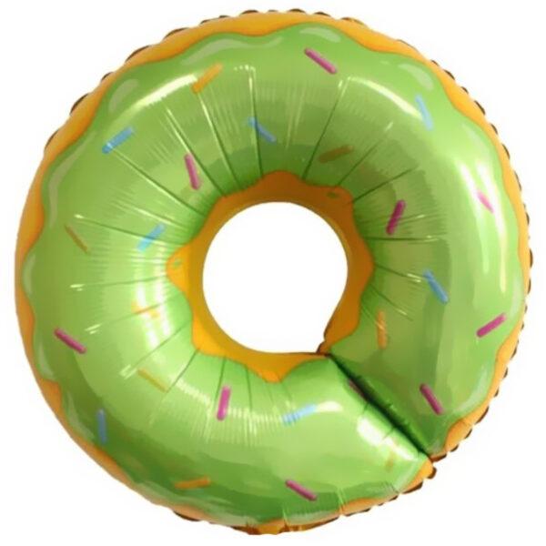 Воздушный шар Пончик зеленый